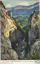 73 - cpa - Le pont de l'Abîme ( i 391)