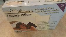 Brand new sealed unus 00004000 ed luxury memory foam sleep pillow by Primo International