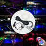 8M RGB LED Car Interior Fiber Optic Neon EL Wire Strip Light Atmosphere APP