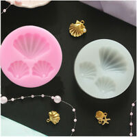 1Pc Shell Shape Silicone molds DIY Pendant Jewelry resin mould craft tool_ti