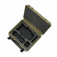"TOMcase DJI Mavic Air 2(!) Koffer Case Kompakt Edition ""Sahara"" (Inlay Schwarz"