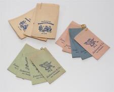 Lot alte Papiertütchen für Kaufladen, Zuckermann Plappermäulchen #E487