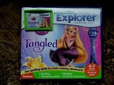 Leapfrog Leapster Explorer TANGLED Game with case Leap Pad,2,3,GS,XDi Ultra