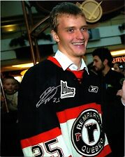Original Quebec Remparts Mikhail Grigorenko Hand Signed Photo