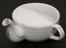 Antique INVALID FEEDER Ceramic PAP BOAT Sick Cup CIVIL WAR Era SOLDIER HOSPITAL