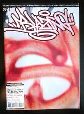 BLAZING 08 French Graffiti Magazine Writing Street Art Silver Subway Spraycan
