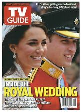 2011 TV Guide Royal Wedding Prince William and Princess Kate Middleton!