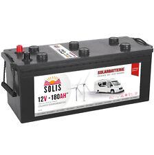 Solarbatterie 180AH Wohnmobil Solar Versorgungs Boots Antriebs Batterie 12V