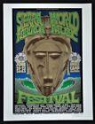 Sierra Nevada World Music Festival POSTER Firehouse Signed Chuck Sperry 2003
