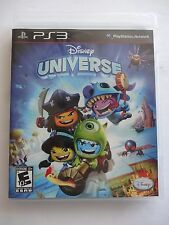 Disney Universe (Sony PlayStation 3, 2011) Excellent Conditon