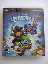 Disney Universe (Sony PlayStation 3, 2011) Excellent Conditon