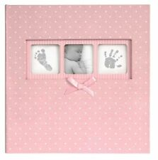Baby Girl Pink White Polka Dot Photo Album 200 Photographs 6x4 Picture Book