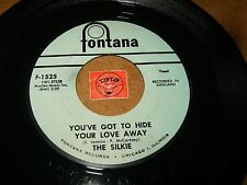 THE SILKIE - YOU'VE GOT TO HIDE YOUR LOVE AWAY - CITY WINDS  / LISTEN - POP ROCK