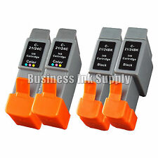 4 PACK GENERIC BCI-24 ink Cartridge for CANON i250 i320 i450 i455 i470D S330