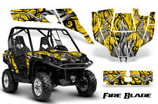 CAN-AM COMMANDER 800R 800XT 1000 1000XT 1000X GRAPHICS KIT DECALS STICKERS FBBY