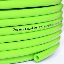 "1pc Polyurethane Tubing 1/4"" OD GREEN 30 m ( 98 ft)  PU MettleAir PU1/4-30GN"