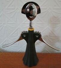 ALESSI Modernist Female Black Color Corkscrew WINE BOTTLE OPENER