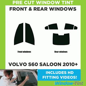 Pre Cut Window Tint - Volvo S60 4-door Berlina 2010 Full Kit