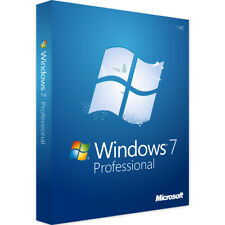 Windows 7 Professional Genuine OEM Licence Key 64 Bit Install Disc DVD & COA
