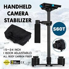 """Carbon Fiber 24"""" Handheld Stabilizer Steadicam Steadycam for DSLR Camera"""
