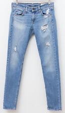 RAG & BONE Dre Distressed Boyfriend Jeans Atwater Blue Size 25 Retail $250