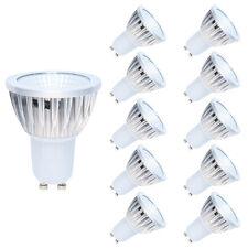10 Stück GU10 LED Lampen Glühbirne Kaltweiß, 3W ersetzt 20 Watt Halogenlampen