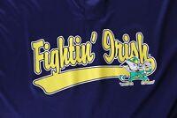 Hollway Fightin Irish Notre Dame Henley Baseball Jersey SHIRT XL Extra Large
