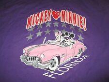Jostens Sportswear Walt Disney World Mickey & Minnie Mouse (4Xl) Shirt Florida