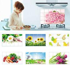 Hot Home Decor Tile Bathroom Kitchen Removable 3D Foil Sticker DIY 45x75cm