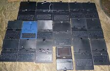 "JOB LOT 17 PROTECTIVE CONVERTIBLE TABLET USB KEYBOARD CASE Black 10"" 7"" Stylus"