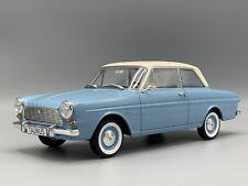 Ford Taunus 12M (P4) Limousine, hellblau/weiss 1965  1:18 BOS  *NEW*