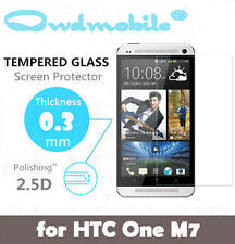 Buy 1 Get 1 FREE HTC One M7 Tempered Glass Screen Protector 2.5D