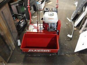 Classen TS-20 Turf Overseeder Honda 5.5HP Engine Walk Behind Grass Lawn Seeder