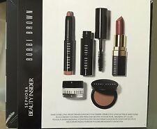 BNIB Bobbi Brown BOBBI'S CULT FAVORITES Sephora Beauty Insider 5 Pc Eye/Lip Set