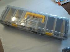 Storehouse 9 Compartment Portable Storage Organizer #95807 NEW blk /yellow