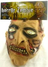 New Horror Zombie Monster Halloween Costume Mask - Scary Haunted Holiday