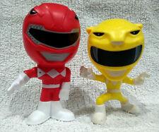2 Power Ranger Burger King 2018 Bobble Head Mighty Morphin Figures Toys