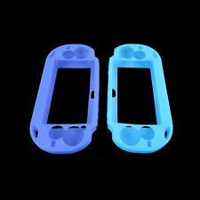 Blue Soft Silicone Skin Protector Cover Case for Sony PS Vita Console PSP BA