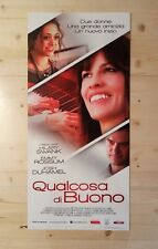 Locandina Film QUALCOSA DI BUONO Poster Movie Originale Cinema 33x70