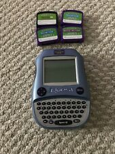 Leapfrog Quantum Leap iQuest game with 4 Cartridges