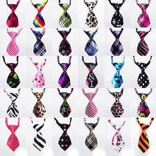 30pcs Lot Dog Bow Tie Collar Grooming Necktie Adjustable Pet Puppy Cat Polyester