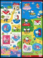 Japan 2013 Hello Kitty Comics Cartoons Zeichentrickfiguren Post 6403-6422 MNH