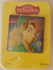 Disney Peter Pan & Tinkerbell Pin Light-Up Blinking Twinkling Le Badge New L7972