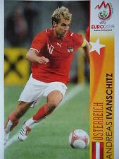 Panini 495 Andreas Ivanschitz Österreich UEFA Euro 2008 Austria - Switzerland