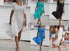 WHOLESALE BULK LOT 10 MIXED COLOUR Kaftan Tunic Dress Bikini Kimono Cover sw088