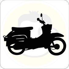 Schwalbe  Aufkleber Ossi Sticker Moped Tattoo