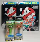2 Boxes Of Ghostbusters Afterlife Cereal (2021) & 2 Funko Pez *brand New Sealed*