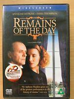 The Remains of the day DVD 1993 Merchant Ivory Kazuo Ishiguro Drama Classic