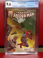 Amazing Spider-Man #1 1:75 9.6 CGC Jerome Opena 1st cameo Cindy Moon (SILK)
