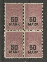 Germany Revenue Fiscal stamps ma6 mnh gum Sachsen